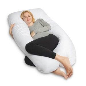 最好的身体枕头选择:女王玫瑰U形怀孕身体枕头