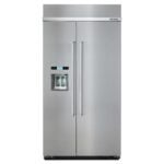 The Best Built-in Refrigerator Option: KitchenAid 25 cu. ft. Built-In Refrigerator