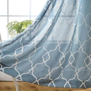 The Best Curtains Option: MIUCO Moroccan Embroidered Semi Sheer Curtains
