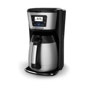 The Best Drip Coffee Maker Option: BLACK+DECKER 12-Cup Thermal Coffeemaker
