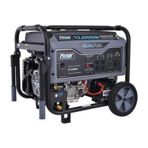 The Best Dual Fuel Generator Option: Pulsar G12KBN Heavy Duty Portable Dual Fuel Generator