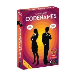 The Best Family Board Game Option: Czech Games Codnamees