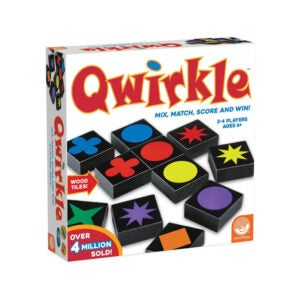 最好的家庭棋盘游戏选项:Mindware QWirkle棋盘游戏