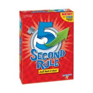 最好的家庭棋盘游戏选项:Playmonster 5秒规则由Playmonster