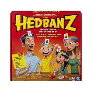 The Best Family Board Game Option: Spin Master Hedbanz