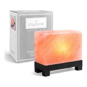 The Best Himalayan Salt Lamp Option: d'aplomb 100% Authentic Himalayan Salt Lamp