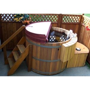 The Best Hot Tub Option: Northern Lights Small 4 Person Wood Fired Tub