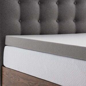 适用于枕木的最佳床垫脚垫选项:Lucid 3寸竹炭床垫衣架