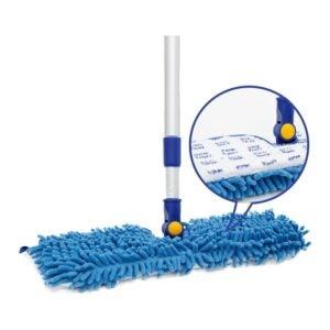"""最好的Microfiber Mop选项:Jinclean 18""""MicroFiber楼层拖把"""