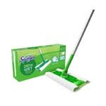 The Best Microfiber Mop Option: Swiffer Sweeper Dry + Wet All Purpose Mopping Kit
