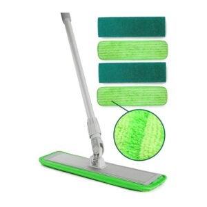 最好的Microfiber Mop选项:涡轮微纤维拖把