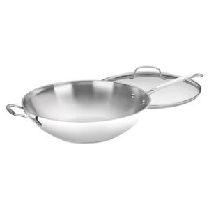The Best Nonstick Pan Option: Cuisinart 726-38H Chef's Classic Stir-Fry Pan