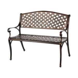 The Best Patio Furniture Option: Patio Sense Cast Aluminum Patio Bench