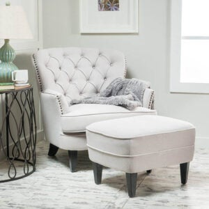 The Best Reading Chair Option: Christopher Knight Home Alfred Fabric Club Chair