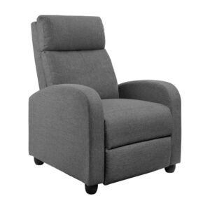 The Best Reading Chair Option: JUMMICO Fabric Recliner Chair