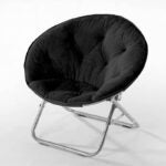 The Best Reading Chair Option: Urban Shop Faux Fur Saucer Chair