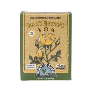 The Best Rose Fertilizer Option: Down to Earth Organic Rose Fertilizer Mix