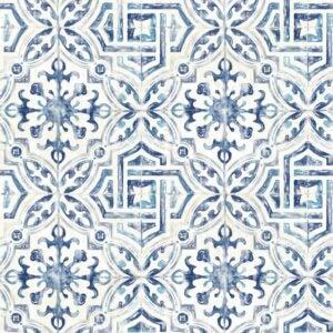 最佳墙纸设计选择:Alexis西班牙瓷砖几何墙纸
