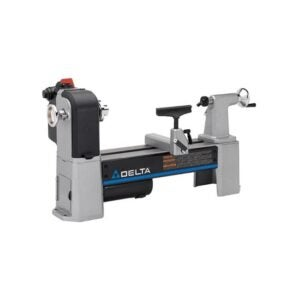 The Best Wood Lathe Option: Delta Industrial 46-460 Variable-Speed Midi Lathe