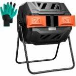 The Best Compost Tumbler Option: VIVOSUN Outdoor Tumbling Composter