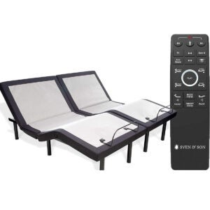 Best Adjustable Bed Options: Sven & Son Split King Adjustable Bed