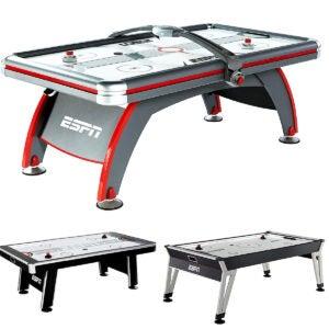 Best Air Hockey Tables Options: ESPN Sports Air Hockey Game Table Indoor Arcade