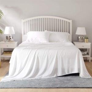 最佳竹板选项:床上100%竹木床单