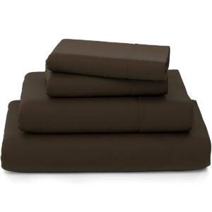 最佳竹木床单选项:舒适的房子集合豪华竹床床单