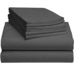 Best Bamboo Sheets Options: LuxClub 6 PC Sheet Set Bamboo Sheets