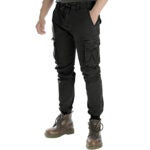 Best Cargo Pants Options: Men Tapered Cargo Pants Slim Fit Chino Joggers Work Trousers with Pockets