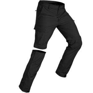 Best Cargo Pants Options: Wespornow Men's-Convertible-Hiking