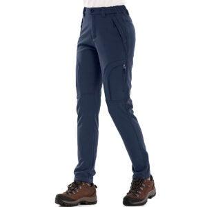 Best Cargo Pants Options: Women's Fleece Lined Outdoor Cargo Hiking Pants