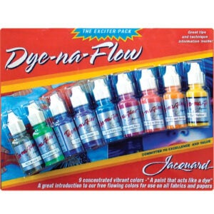 Best Fabric Paint Options: Jacquard JAC9908 Dye-Na-Flow Exciter 9-Colors