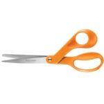 最佳布料剪刀选择:Fiskars原装橙色手柄剪刀