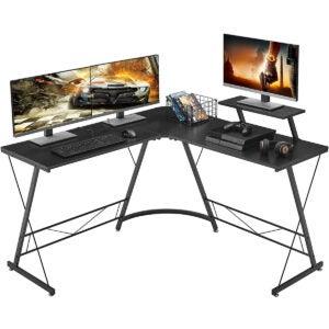 最佳游戏桌选择:铁石先生l型办公桌
