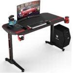 最佳游戏桌选择:vit44英寸符合人体工程学游戏桌