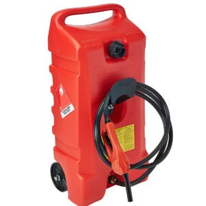Best Gas Can Options: DuraMax Flo n' Go LE Fluid Transfer Pump