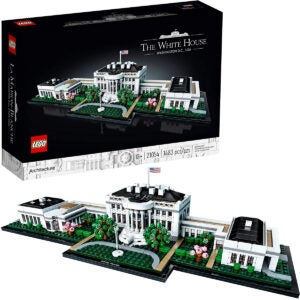 Best Lego Sets Options: LEGO Architecture Collection The White House