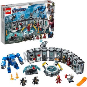 Best Lego Sets Options: LEGO Marvel Avengers Iron Man Hall of Armor