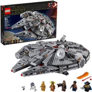 Best Lego Sets Options: LEGO Star Wars The Rise of Skywalker Millennium Falcon