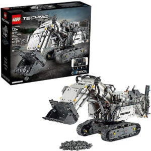 Best Lego Sets Options: LEGO Technic Liebherr R 9800 Excavator 42100 Building Kit