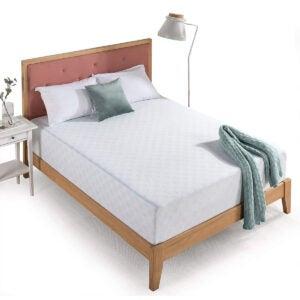 Best Mattresses for Side Sleepers Options: Zinus 12 Inch Gel-Infused Green Tea Memory Foam Mattress