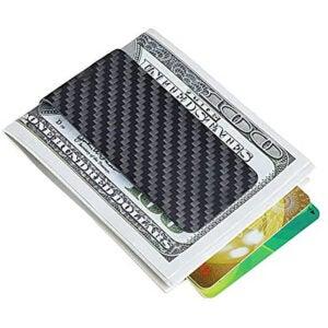 Best Money Clip Options: Carbon fiber wallet Money Clip