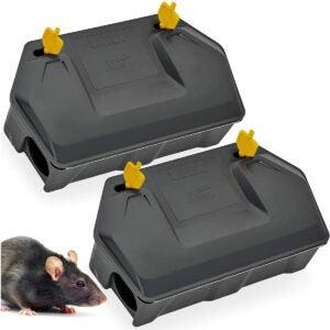 最佳鼠毒选项:鼠饵站2包