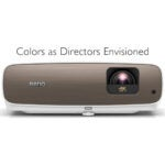 The Best Outdoor Projector Option: BenQ HT3550 4K Home Theater Projector
