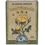 最佳玫瑰肥料选项:下达地球有机玫瑰&花