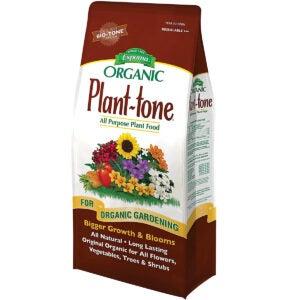 最佳玫瑰肥选项:Espoma Pt4 4-磅植物 - 口气有机5-3-3植物食品