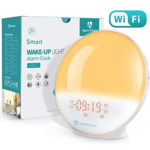 Best Sunrise Alarm Clock Options: heimvision Sunrise Alarm Clock