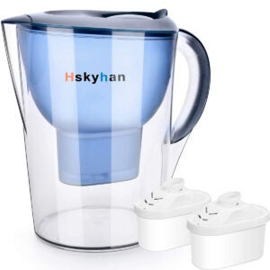 Best Water Filter Pitcher Options: Hskyhan Alkaline Water Filter Pitcher