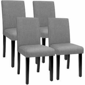 The Black Friday Furniture Option: Furmax Urban Style Armless Fabric Dining Chairs